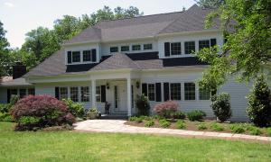 Eye-catching Second Floor Addition Transforms Non-descript Ranch Home